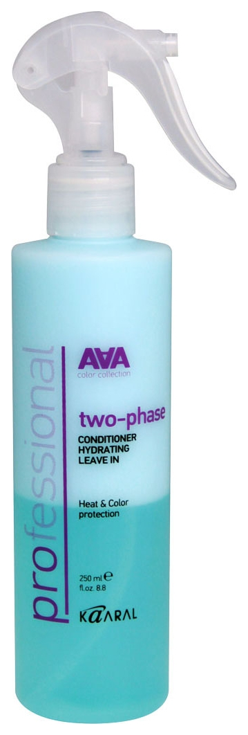 Фото - Kaaral Кондиционер-Спрей Two-Phase Conditioner Hydrating Leave in Двухфазный Увлажняющий с Термозащитой, 250 мл bouticle спрей кондиционер leave in spray conditioner 2 phase двухфазный увлажняющий для волос 500 мл