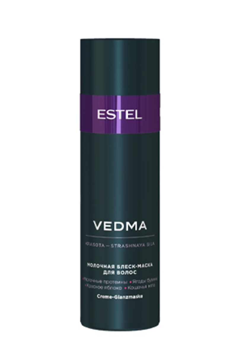 ESTEL Блеск-Маска Vedma Молочная для Волос, 200 мл