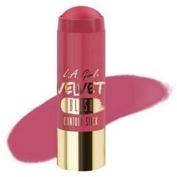 L.A. GIRL Румяна-Стик Velvet Contour Stick blush Plush becca mineral blush румяна wild honey
