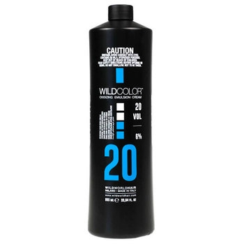 Wild Color Крем-Эмульсия 6% OXI20 Vol. Окисляющая для Краски, 995 мл