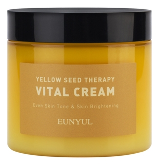Eunyul Крем-Гель Yellow Seed Therapy Vital Cream Витаминизирующий для Лица с Ниацинамидом и Экстрактами Цитрусовых, 270г chi luxury black seed oil curl defining cream gel