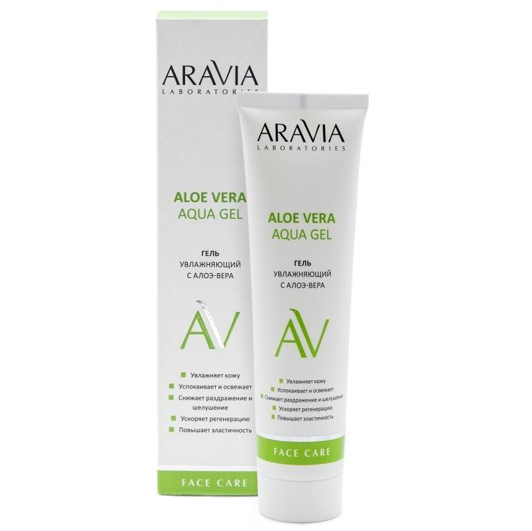 цена на ARAVIA Гель Aloe Vera Aqua Gel Увлажняющий с Алоэ-Вера, 100 мл
