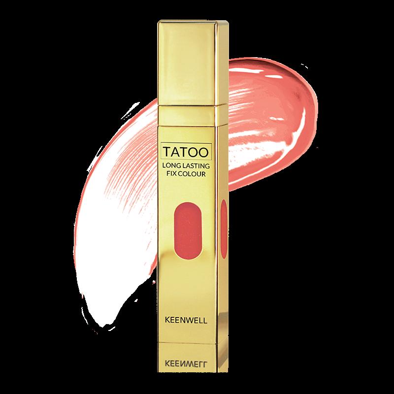 Keenwell декоративная косметика Устойчивый Блеск для Губ № 01 в наборе Star Gloss Tatoo, 2 шт