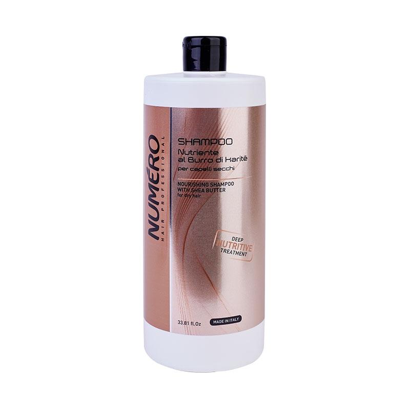 Brelil Professional Шампунь с маслом карите для сухих волос, 1000 мл