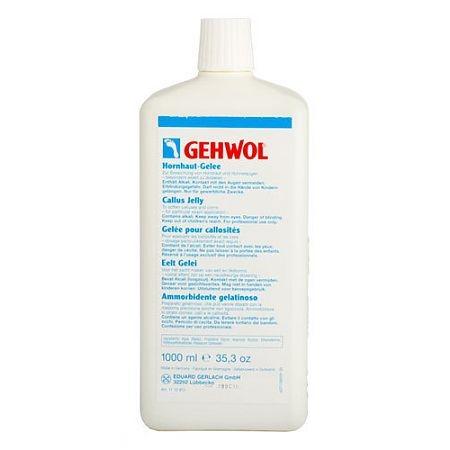 GEHWOL Гель для Загрубевшей Кожи, 1000 мл крем для ног gehwol 125 мл для загрубевшей кожи