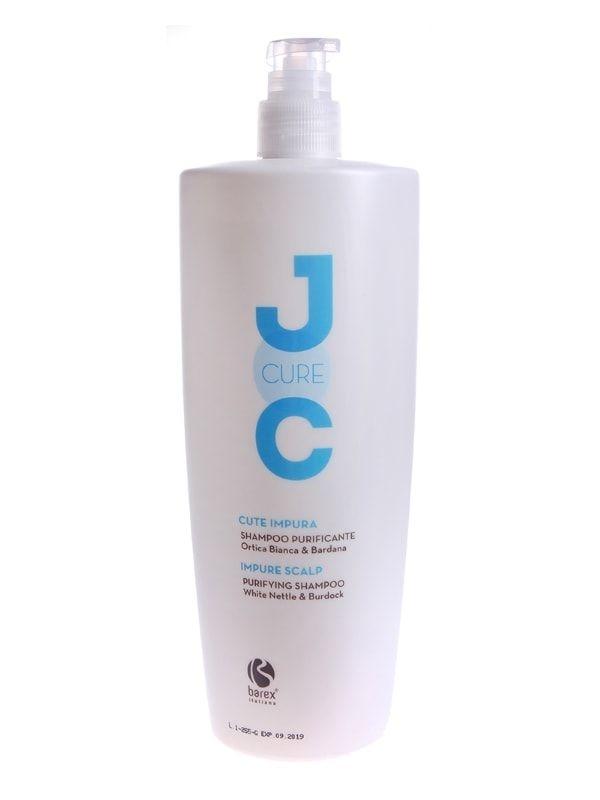 Barex Шампунь JOC Cure Purifying Очищающий с Экстрактом Белой Крапивы, 1000 мл