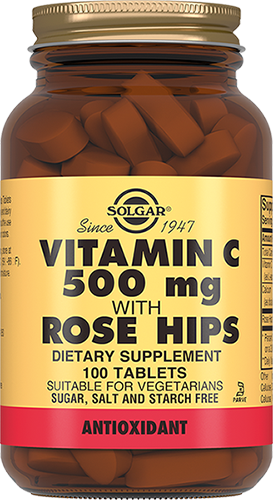 Solgar Витамин Vitamin C With Rose Hips С и Шиповник Таблетки №100