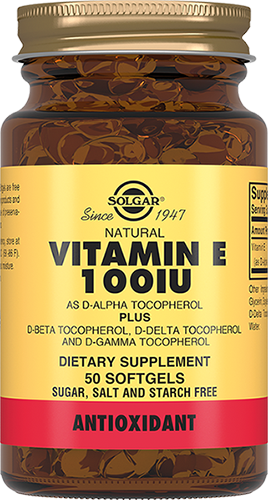 Solgar Витамин Е Капсулы 100 МЕ №50