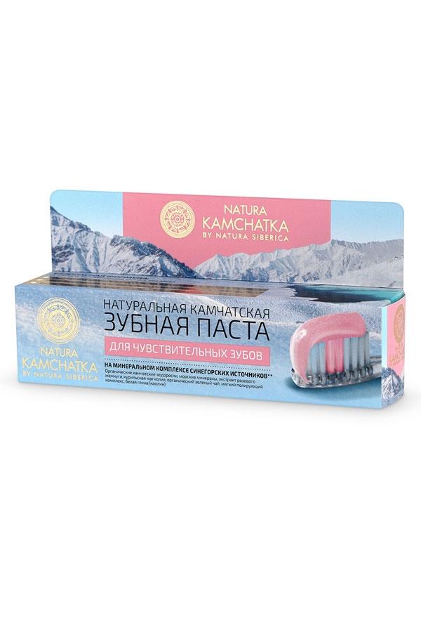 Natura Siberica Натуральная Камчатская Зубная Паста для Чувствительных Зубов, 100 мл