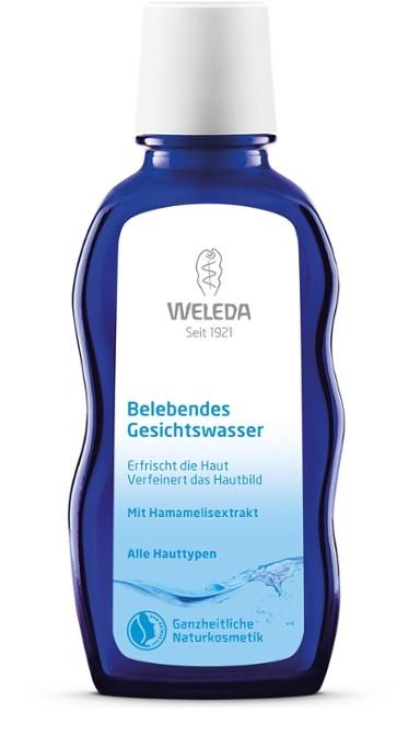 WELEDA Оживляющий Тоник для Лица для Всех Типов Кожи, 100 мл weleda тоник для лица живительный belebendes gesichtswasser 100 мл