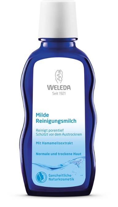 WELEDA Нежное Очищающее Молочко для Нормальной и Сухой Кожи, 100 мл weleda нежное очищающее молочко для нормальной и сухой кожи 100 мл weleda очищающая линия