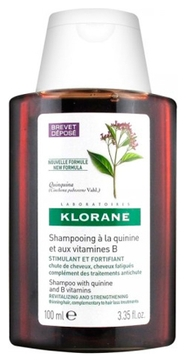 Klorane Шампунь с Экстрактом Хинина Укрепляющий для Всех Типов Волос, 100 мл