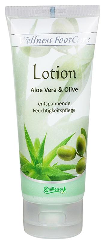 Camillen 60 Лосьон Lotion Aloe&Olive с Алоэ Вера и Оливой Интенсивный Увлажняющий, 100 мл ducray неоптид лосьон от выпадения волос для мужчин 100 мл