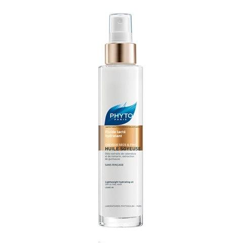 Фото - Phyto Флюид Huile Soyeuse Lightweight Hydrating Oil Шелковое Молочко Интенсивное Увлажнение, 100 мл huile
