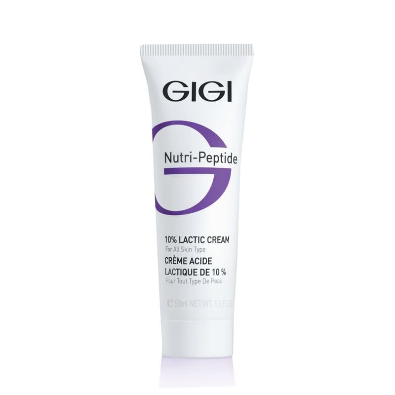 GIGI Крем NP Lactic Cream Пептидный Увлажняющий с 10% Молочной Кислотой, 50 мл
