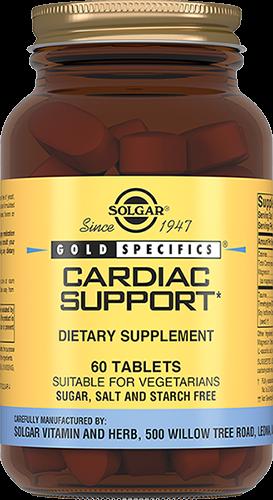 Solgar Кардио Саппорт Плюс Cardiac Support Таблетки 120 мг №60