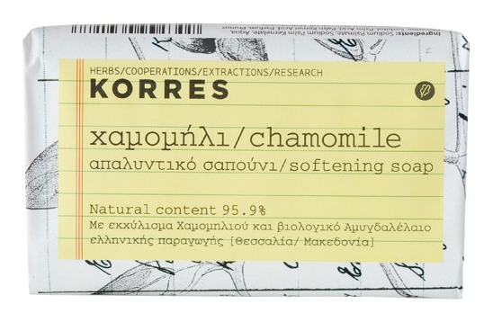 Korres Мыло для лица с Ромашкой, 125г мыло с колд кремом авен