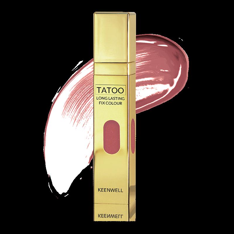 Keenwell декоративная косметика Устойчивый Блеск для Губ № 12 в наборе Star Gloss Tatoo, 2 шт