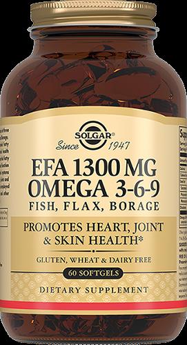Solgar Комплекс Omega 3-6-9 Жирных Кислот 1300 Омега №60