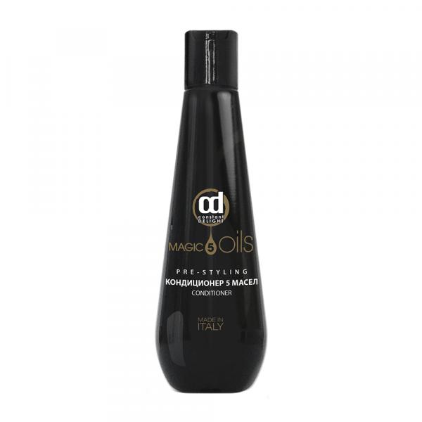 Constant Delight Кондиционер 5 Magic Oils Pre-Styling 5 Масел, 250 мл
