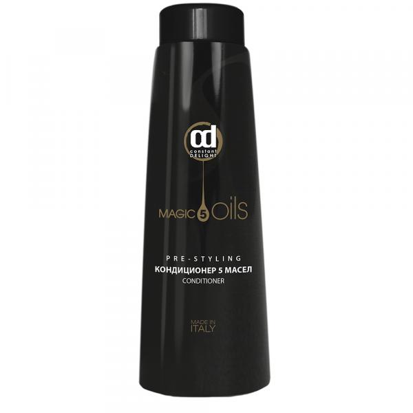 Constant Delight Кондиционер 5 Magic Oils Pre-Styling 5 Масел, 1000 мл