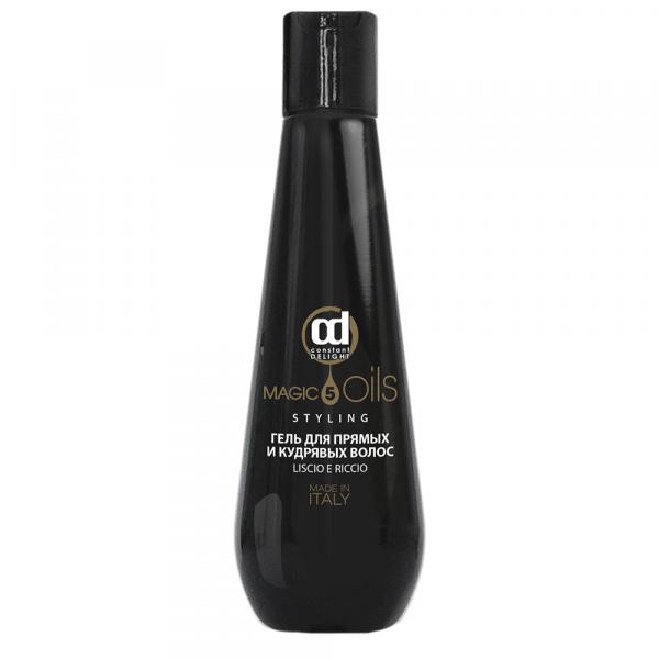 Constant Delight Гель 5 Magic Oils для Прямых и Кудрявых Волос 5 Масел, 200 мл constant delight спрей 5 magic oils pre styling термозащитный 5 масел 200 мл