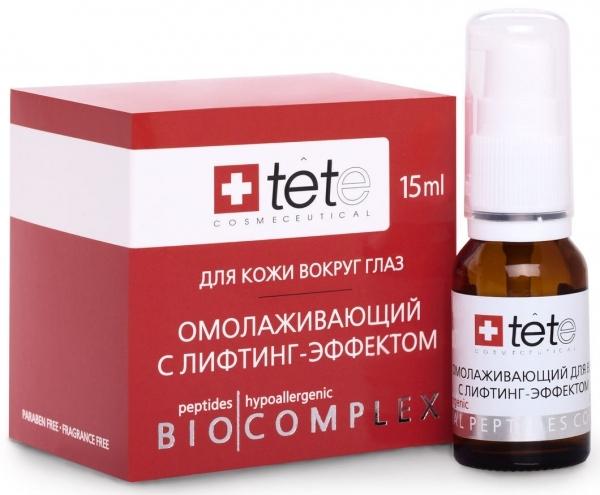 TETe Cosmeceutical Биокомплекс омолаживающий с лифтинг эффектом для век, 15 мл