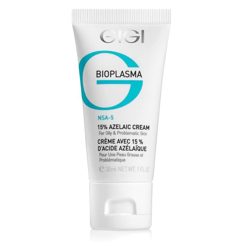 GIGI Крем BP Azelaic Cream с 15% азелаиновой кислотой для жирной проблемной кожи, 30 мл gigi крем bp azelaic cream с 15% азелаиновой кислотой для жирной проблемной кожи 30 мл