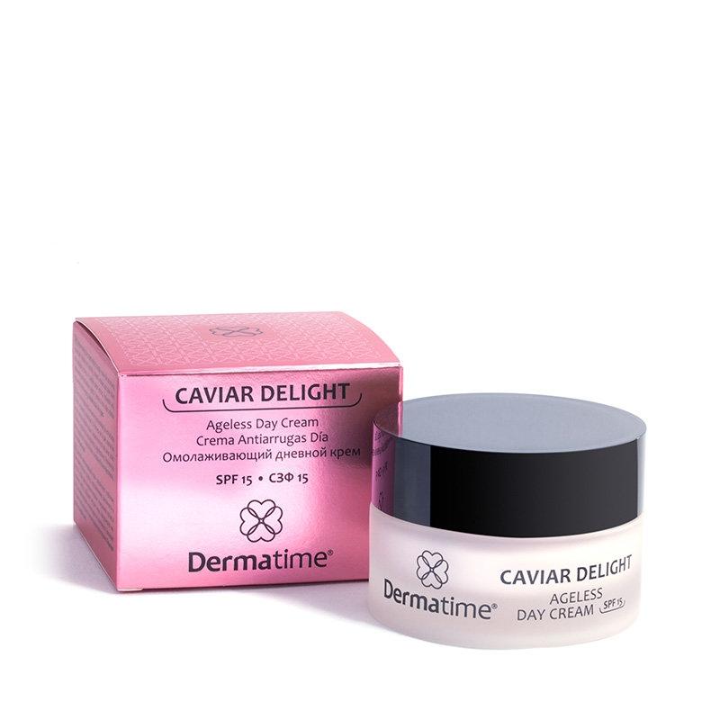 Dermatime Крем Омолаживающий Дневной СЗФ15 Caviar Delight, 50 мл