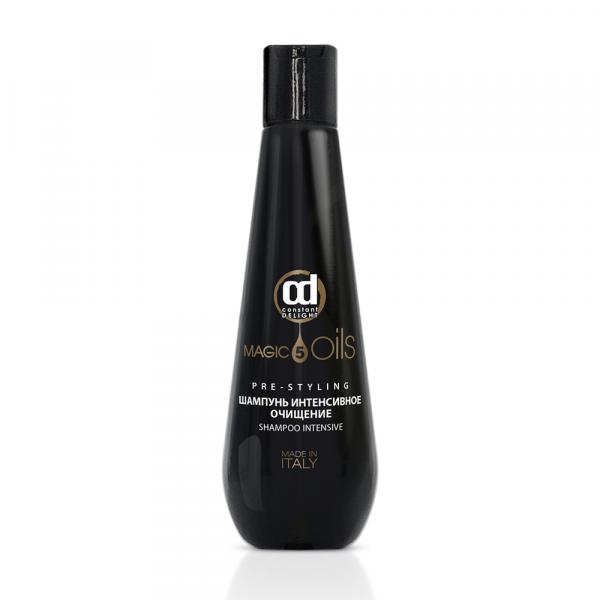 Constant Delight Шампунь 5 Magic Oils Shampoo Pre-Styling Глубокой Очистки, 250 мл