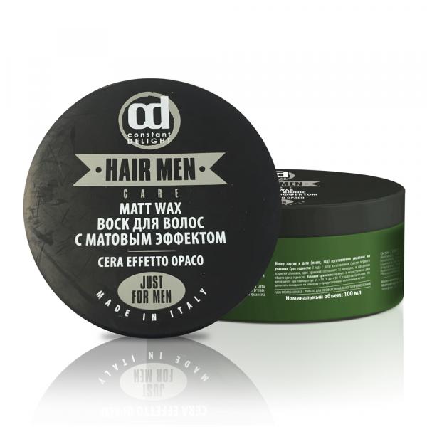 Constant Delight Воск Barber Matt Wax для Волос с Матовым Эффектом, 100 мл