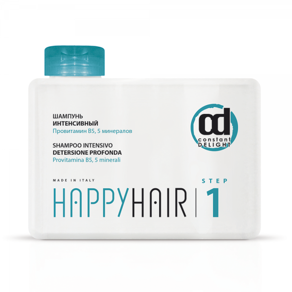 Constant Delight Шампунь Happy Hair Intensivo Shampoo Step1 Интенсивный Шаг 1, 250 мл