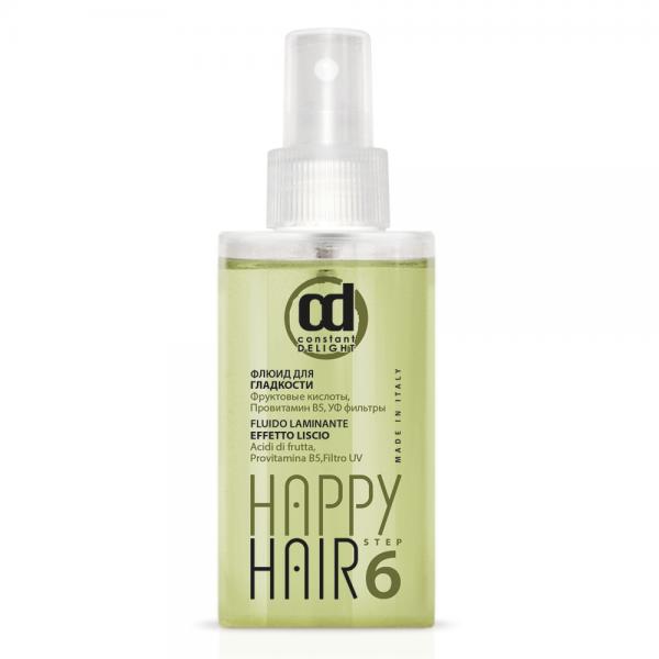 Constant Delight Флюид Happy Hair Frizz Fluid Step6 для Гладкости Шаг 6, 100 мл