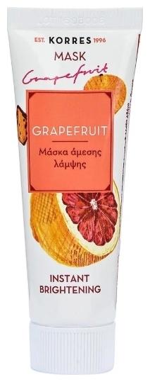 Korres Маска для Мгновенного Улучшения Цвета Грейпфрут, 16 мл