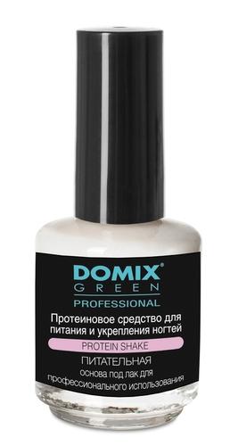 Domix Средство Protein Shake Протеиновое для Питания и Укрепления Ногтей, 17 мл недорого