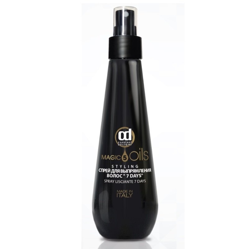 Constant Delight Спрей 5 Magic Oils Spray Lisciante 7 Days для Выпрямления Волос Days, 200 мл