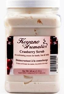 Keyano Aromatics Скраб Клюквенный, 1900 мл