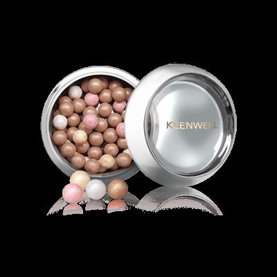 Keenwell декоративная косметика Метеориты № 1 - Тональные Компактные Сферы, 42г