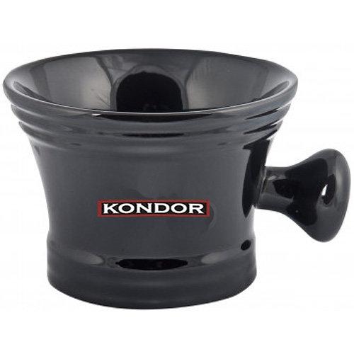 Фото - KONDOR Чаша для Бритья с Ручкой, 1 шт kondor гель shaving gel для бритья 750 мл