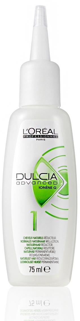 L'Oreal Professionnel Лосьон 1 Dulcia Advanced Натуральные Волосы Дульсия Эдванст, 75 мл