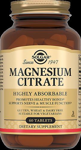 Solgar Таблетки Magnesium Citrate Цитрат Магния 200 мг №60