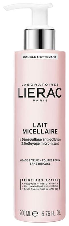 Lierac Мицеллярное Молочко, 200 мл молочко мицеллярное для лица lierac lait micellaire 200 мл