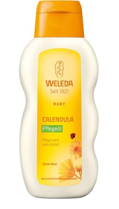 WELEDA Масло с Календулой для Младенцев с Нежным Ароматом, 200 мл