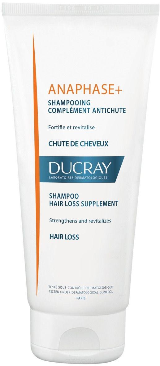 Ducray Шампунь Anaphase+ для Ухода за Ослабленными, Выпадающими Волосами Анафаз+,  200 мл ducray неоптид лосьон от выпадения волос для мужчин 100 мл