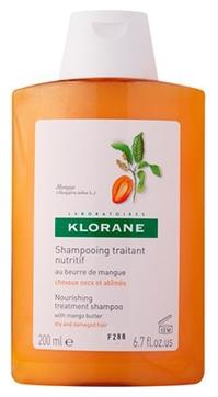 Klorane Шампунь с Маслом Манго для Сухих и Поврежденных Волос, 200 мл шампунь klorane с маслом манго для сухих и поврежденных волос 200 мл