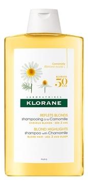 Klorane Шампунь с Ромашкой для Светлых Волос, 200 мл шампунь с ромашкой для светлых волос 200 мл klorane blond hair