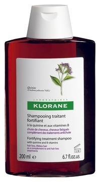 Klorane Шампунь с Экстрактом Хинина Укрепляющий для Всех Типов Волос, 200 мл