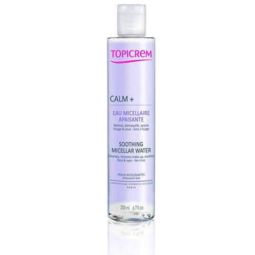 Topicrem Вода Calm+ Успокаивающая Мицеллярная, 200 мл bione cosmetics мицеллярная вода exclusive q10 255 мл