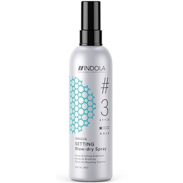 INDOLA PROFESSIONAL Спрей Setting Blow-Dry Spray для Быстрой Сушки Волос, 200 мл loreal professional volumetry спрей