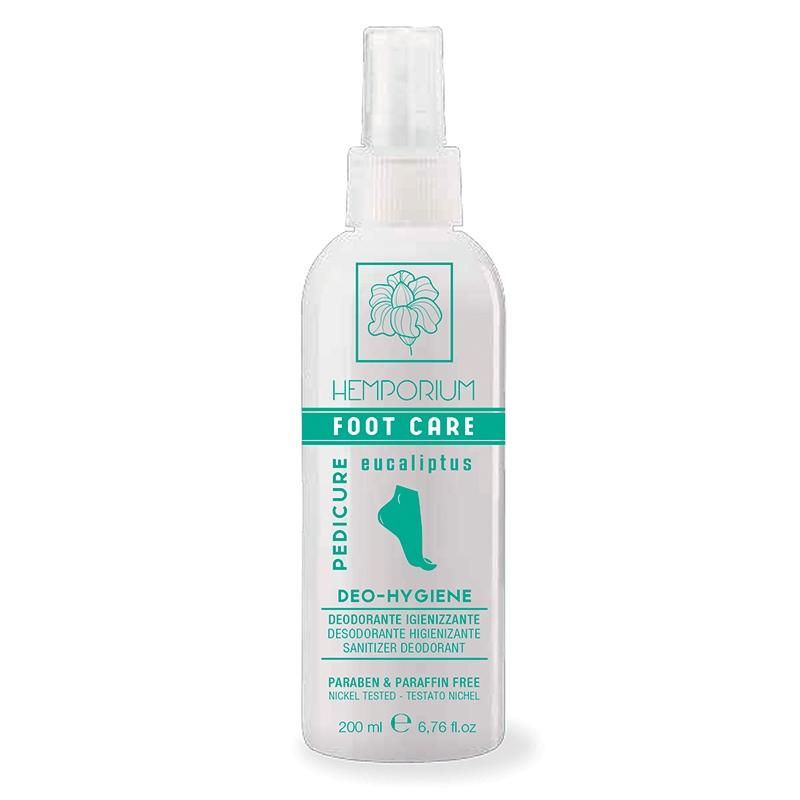 KAYPRO Дезодорант Foot Care Deo-Hygiene Гигиенический для Ног с Эвкалиптом, 200 мл дезодорант для помещений